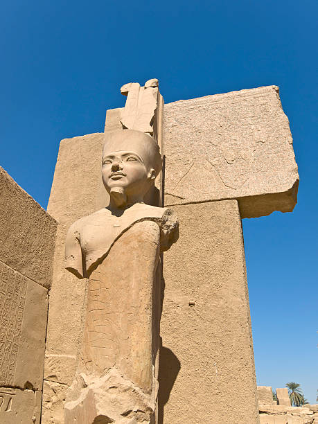 Temple of Karnak Temple of Karnak on the East Bank of Luxor, Egypt Tomb Of Ramses III stock pictures, royalty-free photos & images