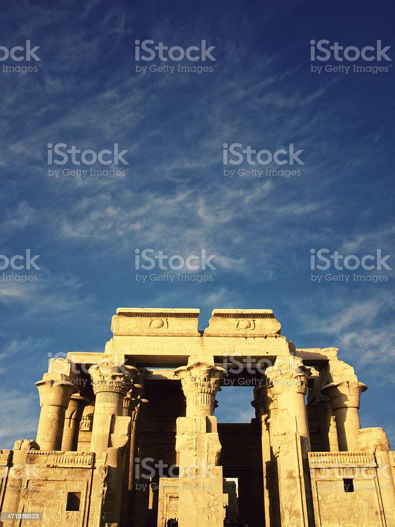 Temple Of Kom Ombo - Egypt stock photo