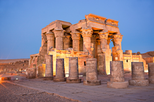 Temple Of Kom Ombo Stock Photo - Download Image Now