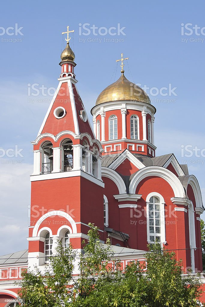 Temple of lady Day of The Most Holy our Lady stock photo