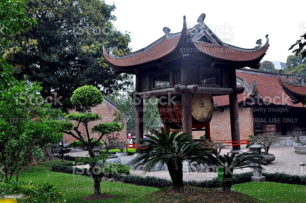 The newly renovated Temple of Literature in Hanoi is dedicated to...
