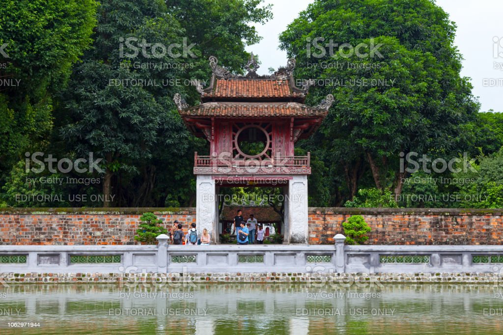 The Temple of Literature is a Temple of Confucius. It hosts the...