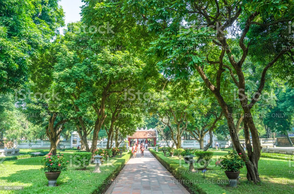 Temple of Literature, it also known as Temple of Confucius and...