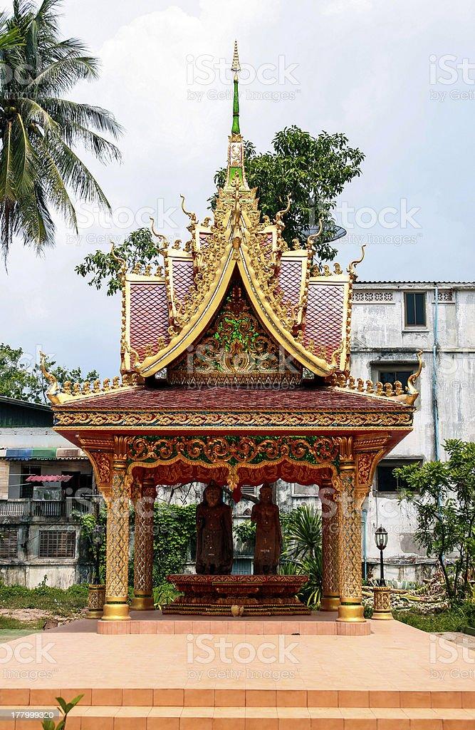 Temple of Luang Prabang stock photo