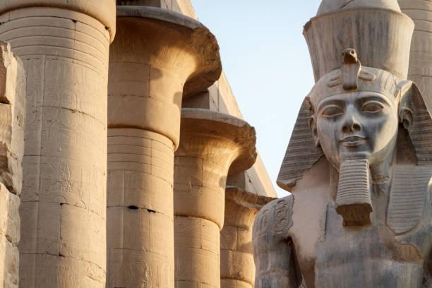 Temple of Luxor stock photo