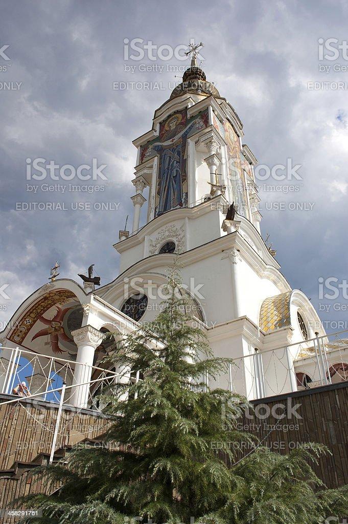 Temple of Prelate Nikolai stock photo