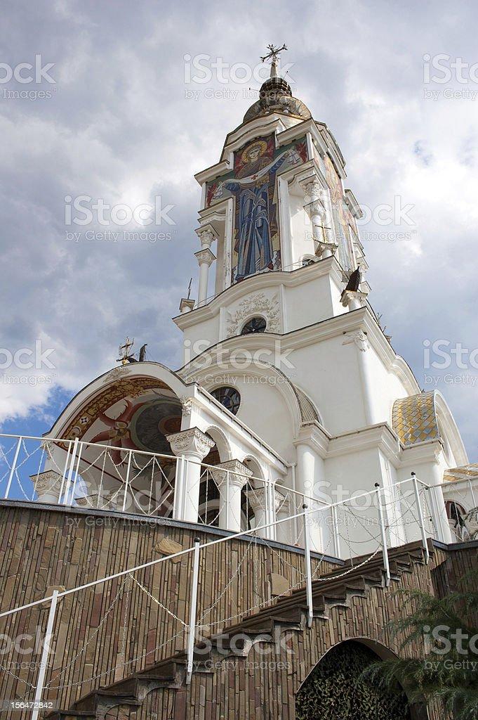 Temple of Prelate Nikolay stock photo