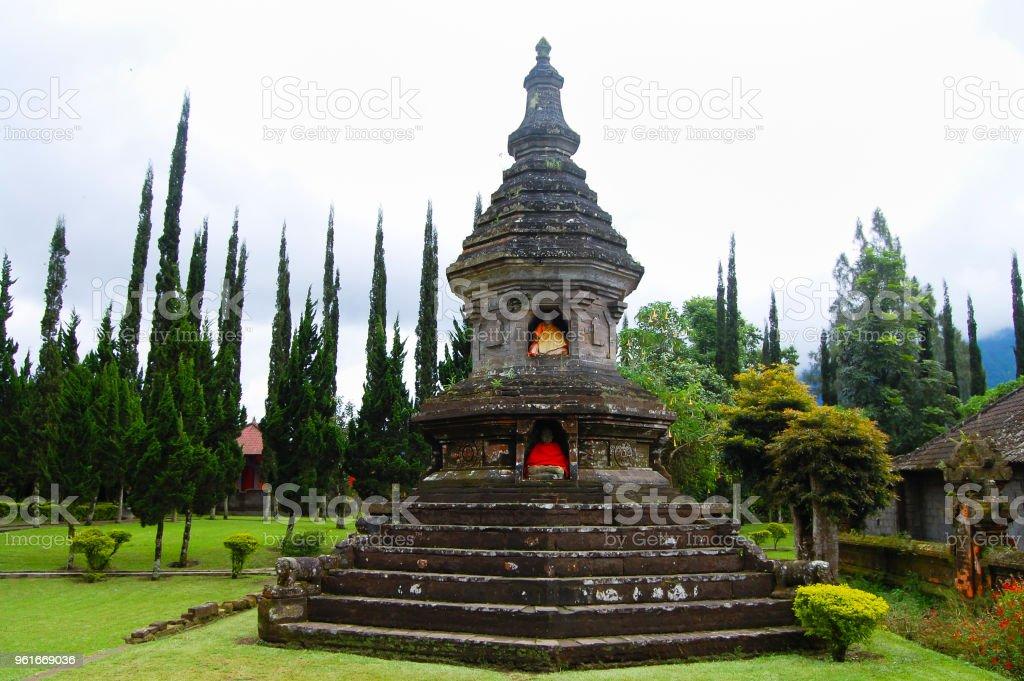 Temple of Pura Ulun Danu Bratan stock photo
