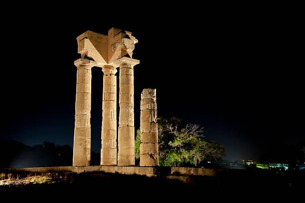 Tempel von Pythian Apollo Rhodes – Foto
