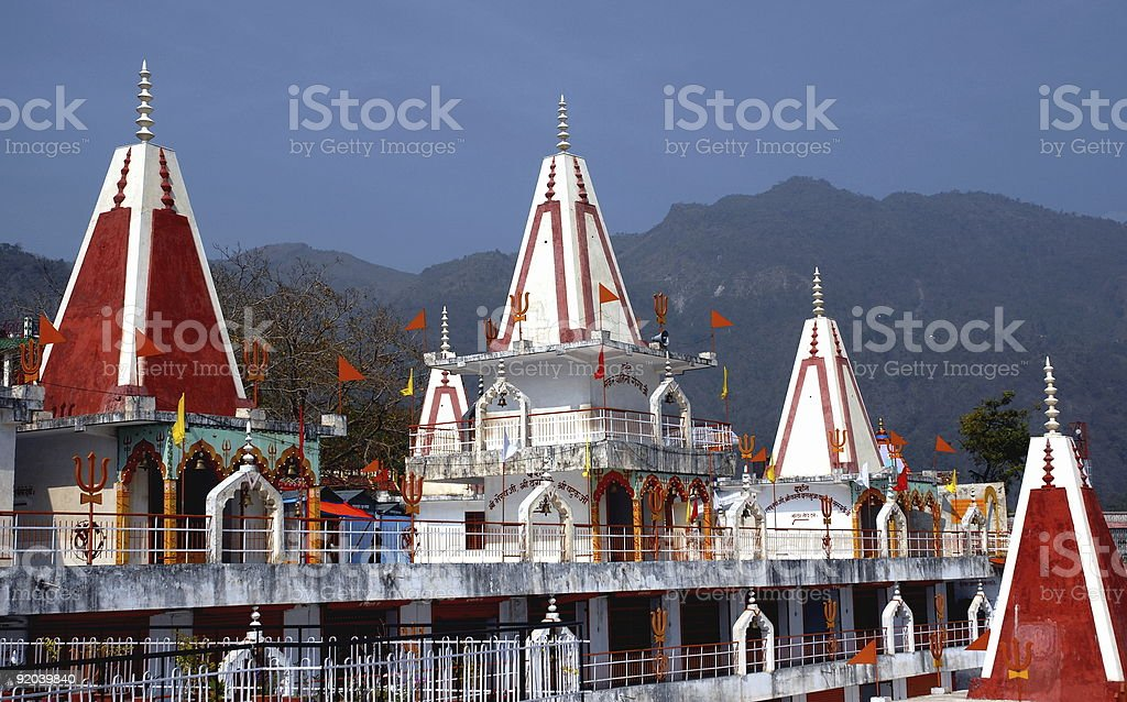 Temple of Rishikesh royalty-free stock photo