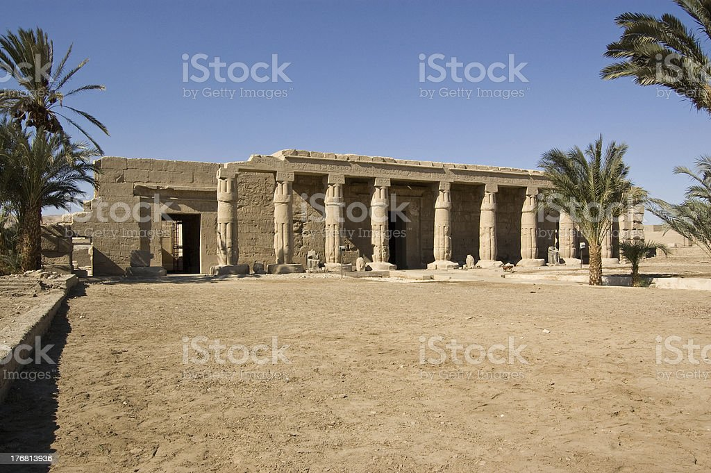 Temple of Seti I, Luxor stock photo