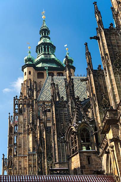 Temple of St. Vitus in Prague 1 stock photo