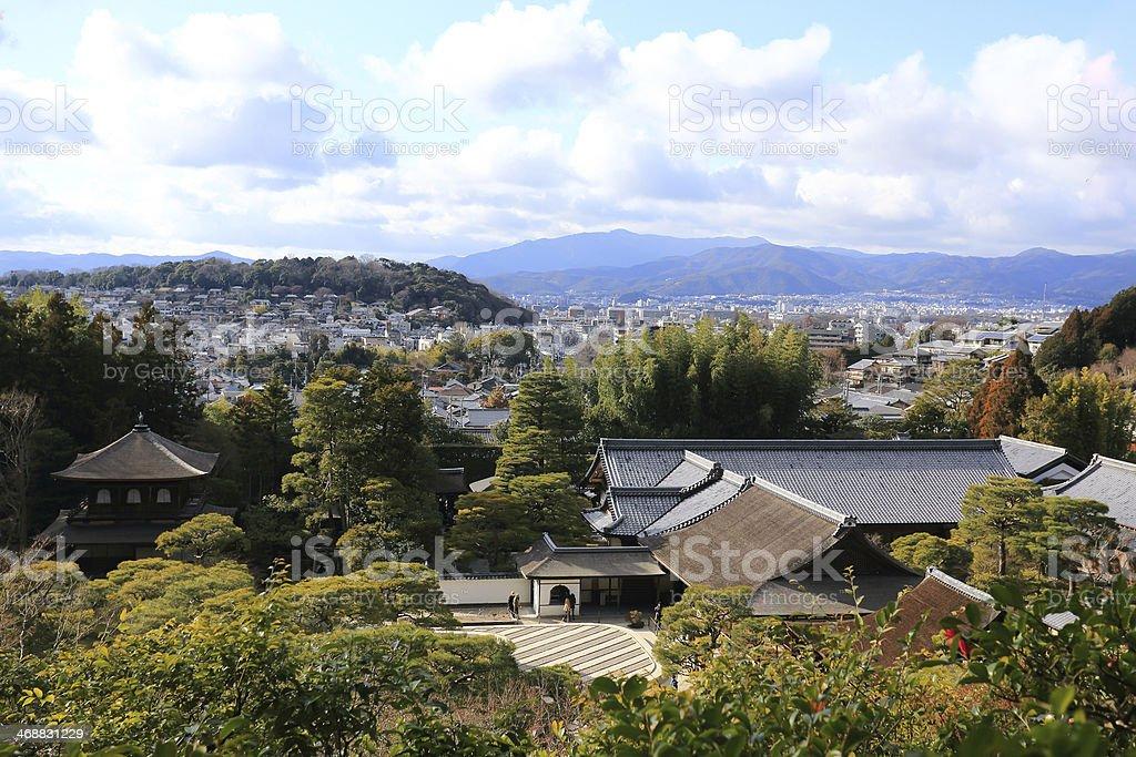 Tempel der Silver-Pavillon in Kyoto, Japan – Foto