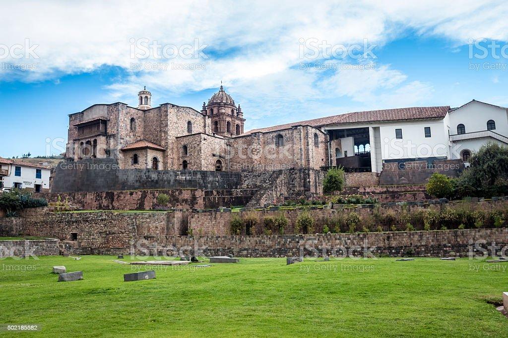 Temple of the Sun - Cuzco stock photo