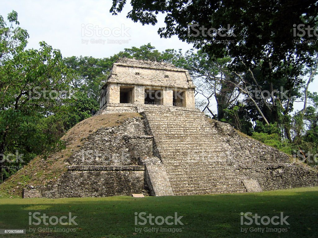 Temple of the Sun stock photo