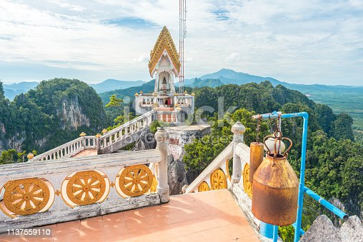 909806032istockphoto Temple of the Tiger Cave's mountain in Krabi, Thailand 1137559110