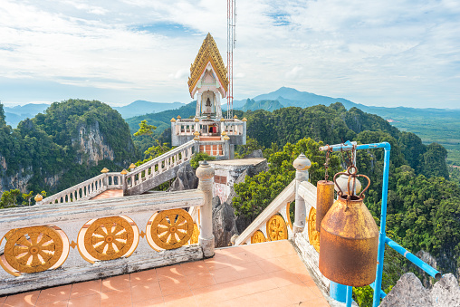 istock Temple of the Tiger Cave's mountain in Krabi, Thailand 1137559110