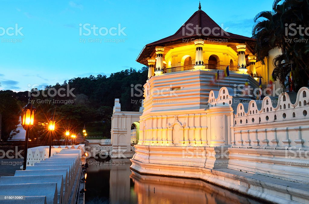 Tempel der Zahn, Kandy, Sri Lanka – Foto