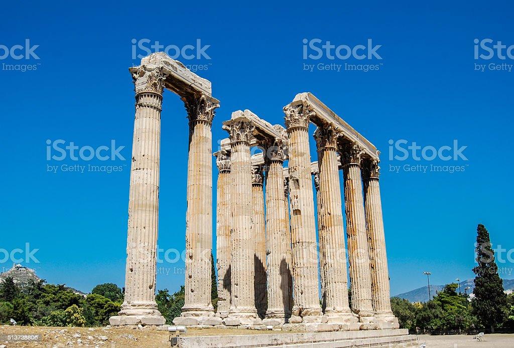 Tempel des Zeus, Athen – Foto