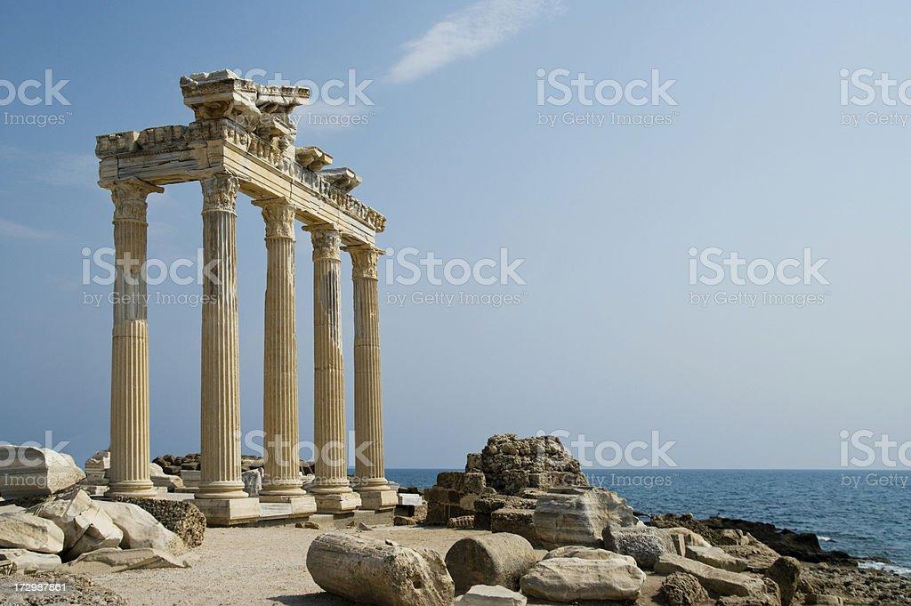Temple sur le littoral - Photo
