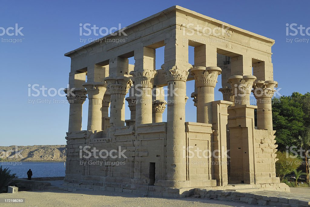 Temple Philae 01 royalty-free stock photo