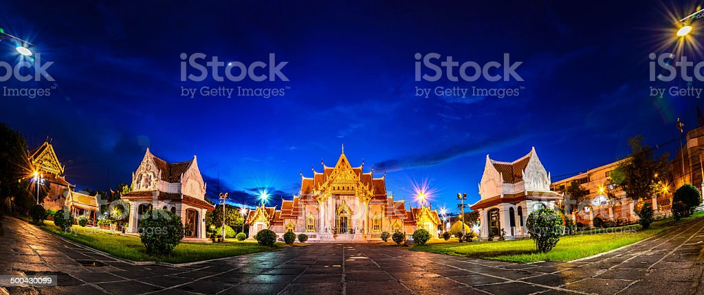 Temple stock photo
