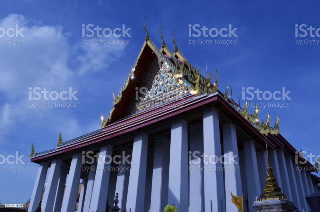 Temple. stock photo