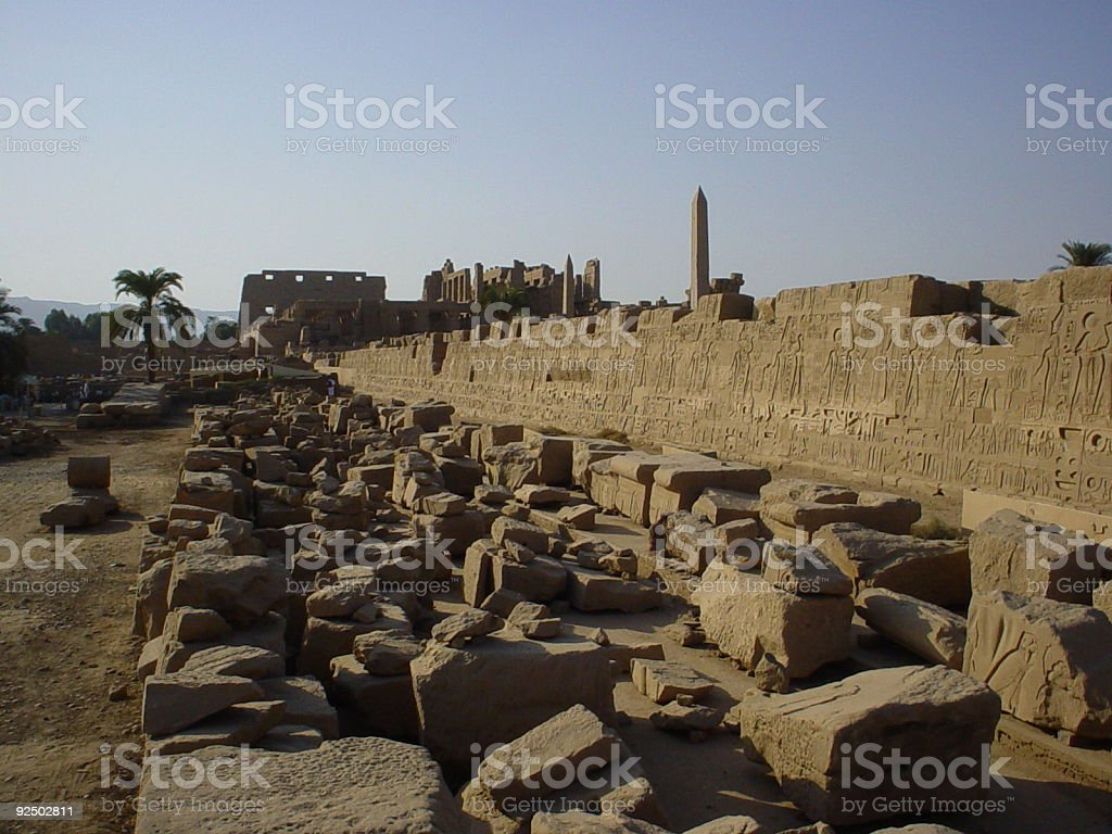 Temple ruins royalty-free stock photo