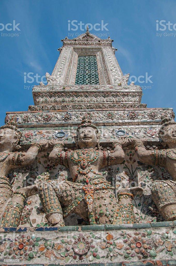 Temple Wat Arun Bangkok stock photo