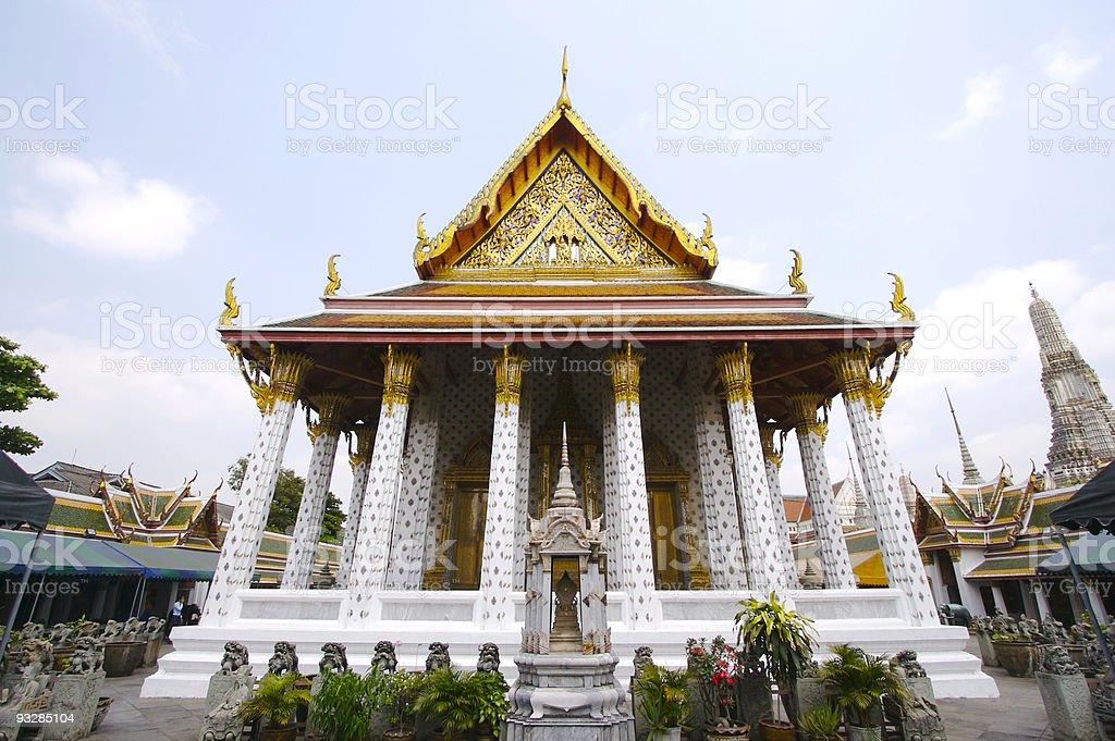 Temple, Wat Arun royalty-free stock photo