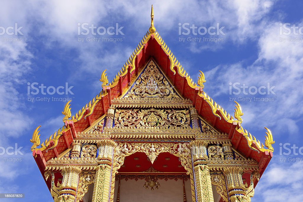 temple wat thai royalty-free stock photo