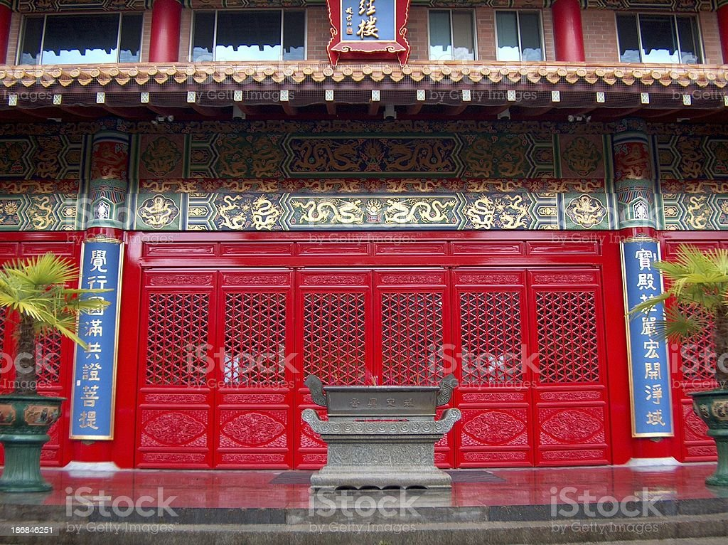 Temple_Oriental_Buddhist royalty-free stock photo