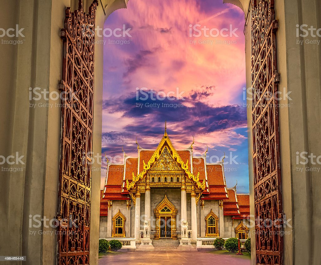 Temple,Bangkok in Thailand stock photo