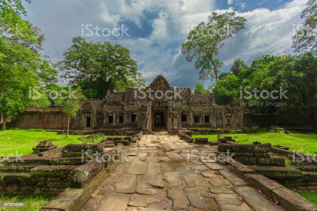 Temples in Cambodia stock photo