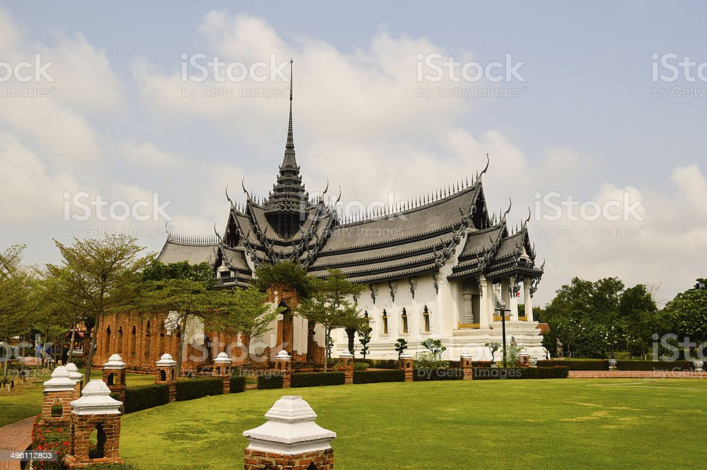 Temples in Thailand stock photo