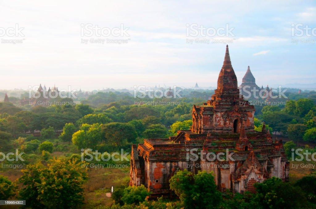 Temples of Bagan, Myanmar royalty-free stock photo