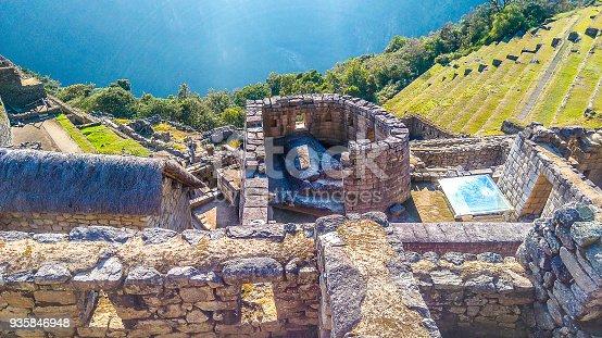 Ruínas da Cidade Inca de Machu Picchu Local: Machu Picchu - Cusco - Peru Data: 08/2016