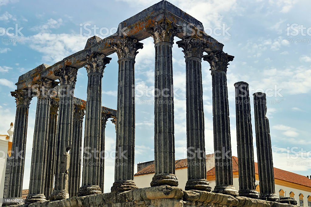 Templo Romano stock photo