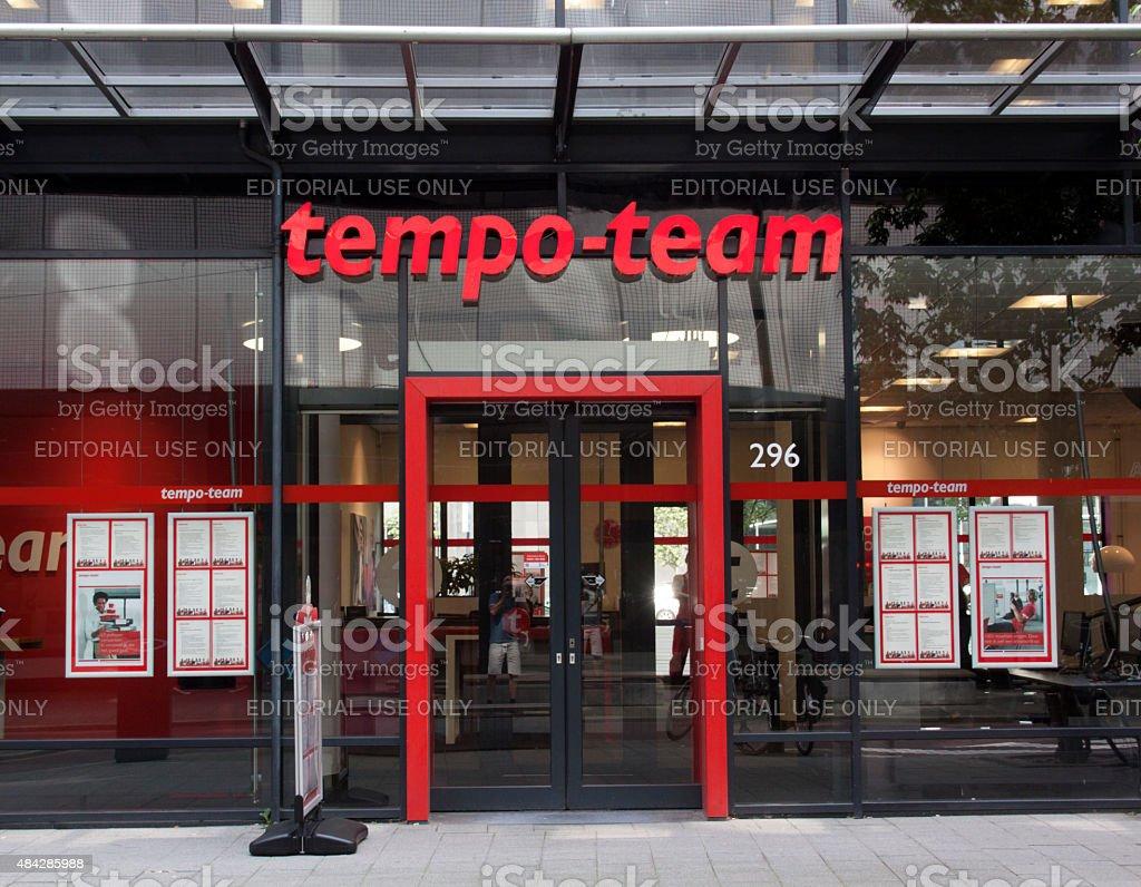 Tempo Team stock photo