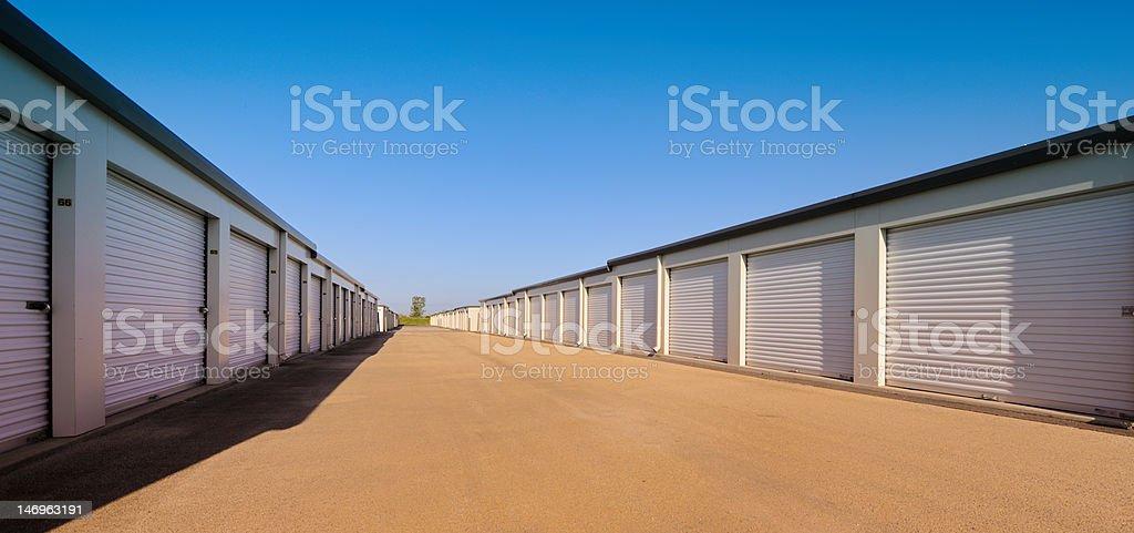 Temporary Storage Facility royalty-free stock photo