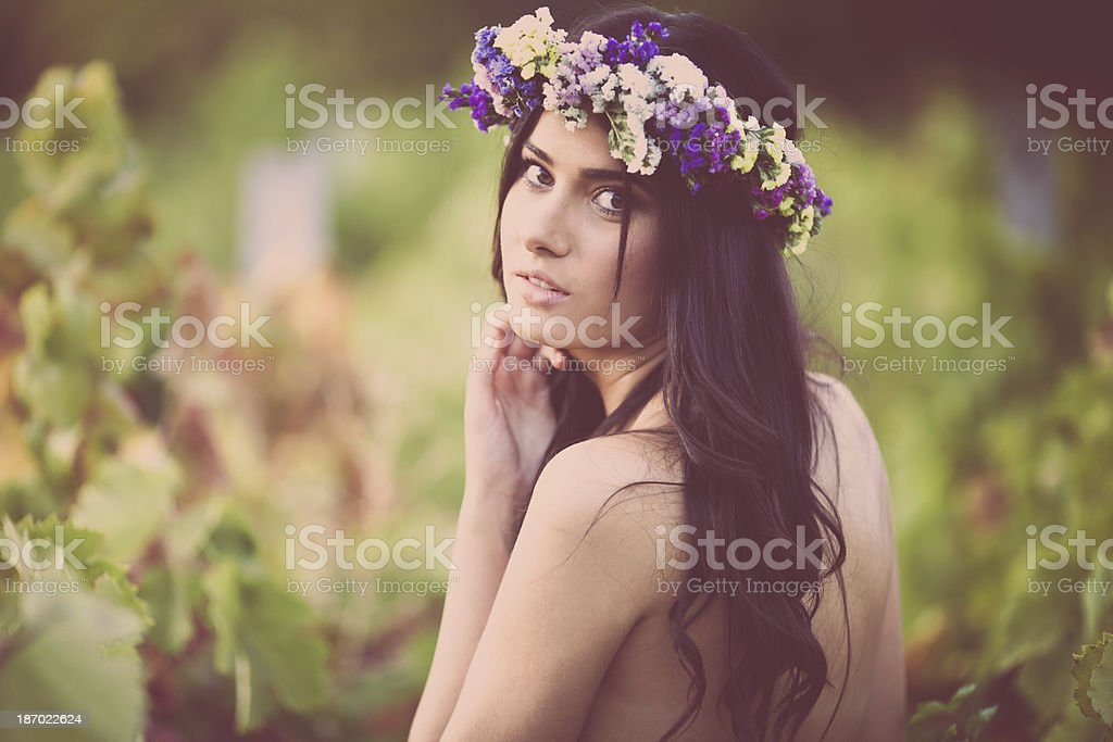 Tempting beauty royalty-free stock photo