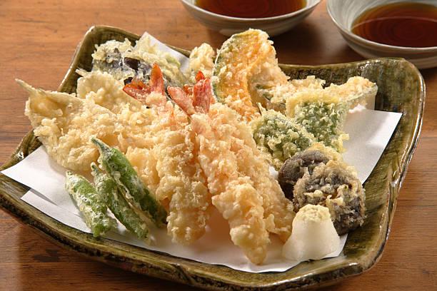 tempura - tempura imagens e fotografias de stock