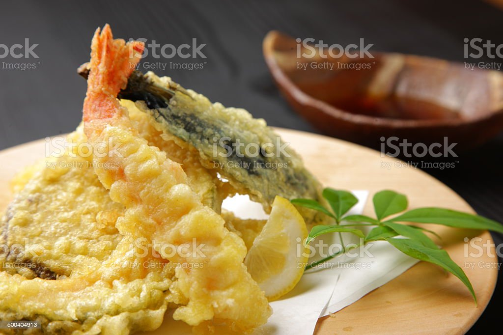 tempura stock photo