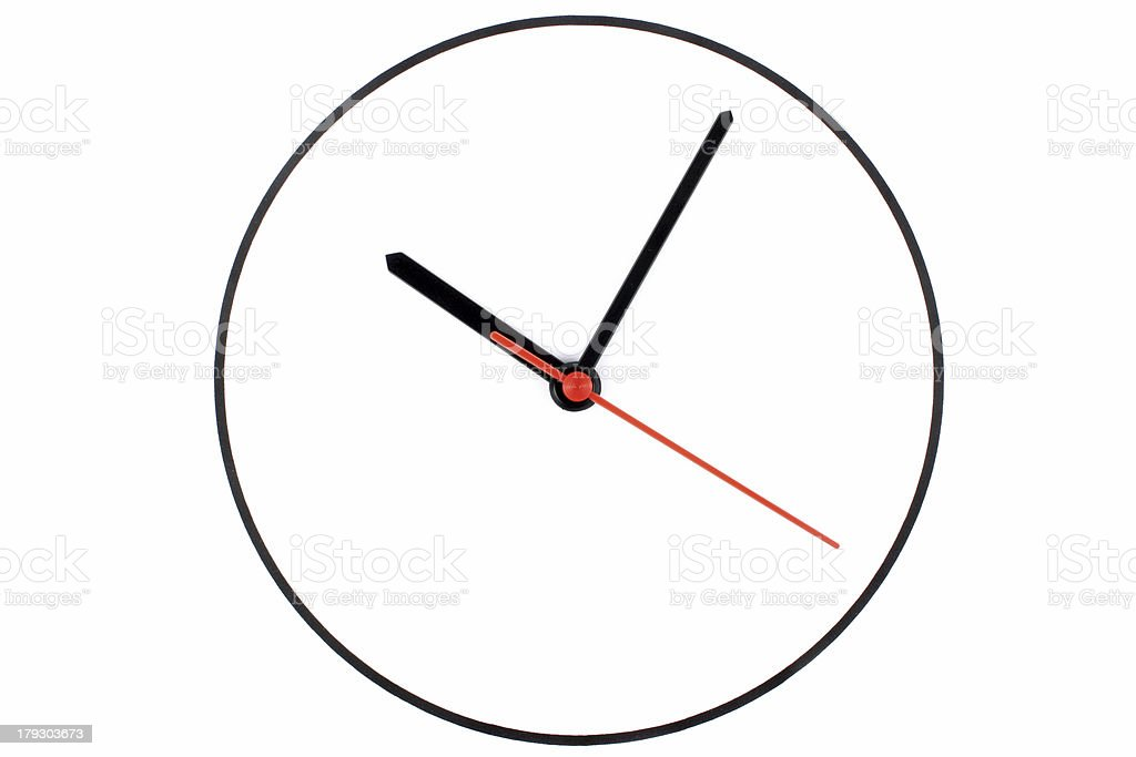 Ten 10 o'clock royalty-free stock photo