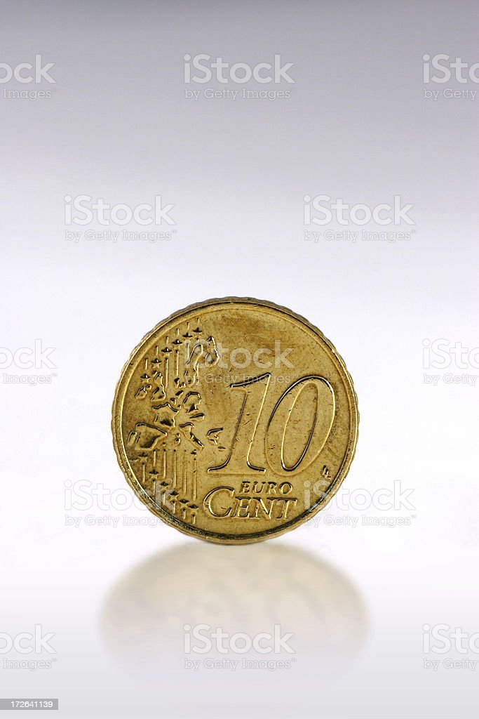Ten Cent Coin royalty-free stock photo