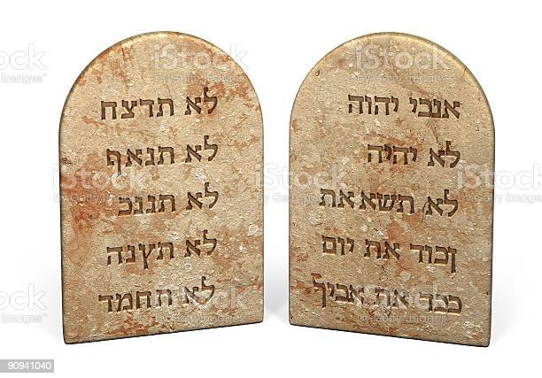 Ten Commandments Stock Photo - Download Image Now