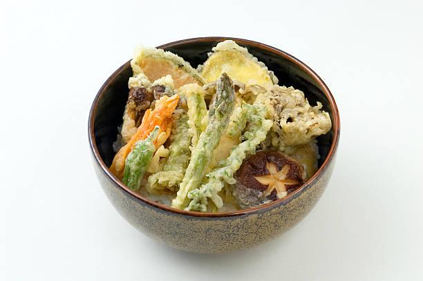 ten don - tempura imagens e fotografias de stock