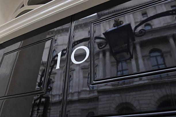 Ten Downing Street stock photo