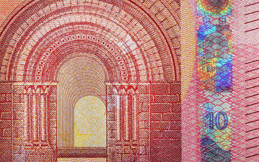 istock ten euro bank note close up detail background 1145215440
