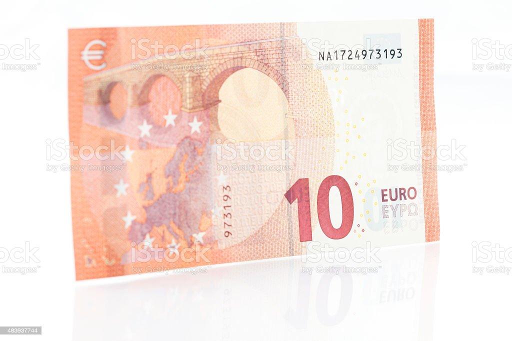 Zehn Euro beachten Sie-Rückseite – Foto